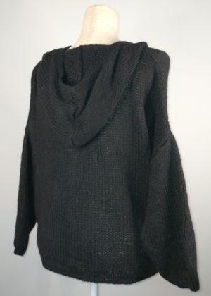 Jersey de punto grueso con calavera