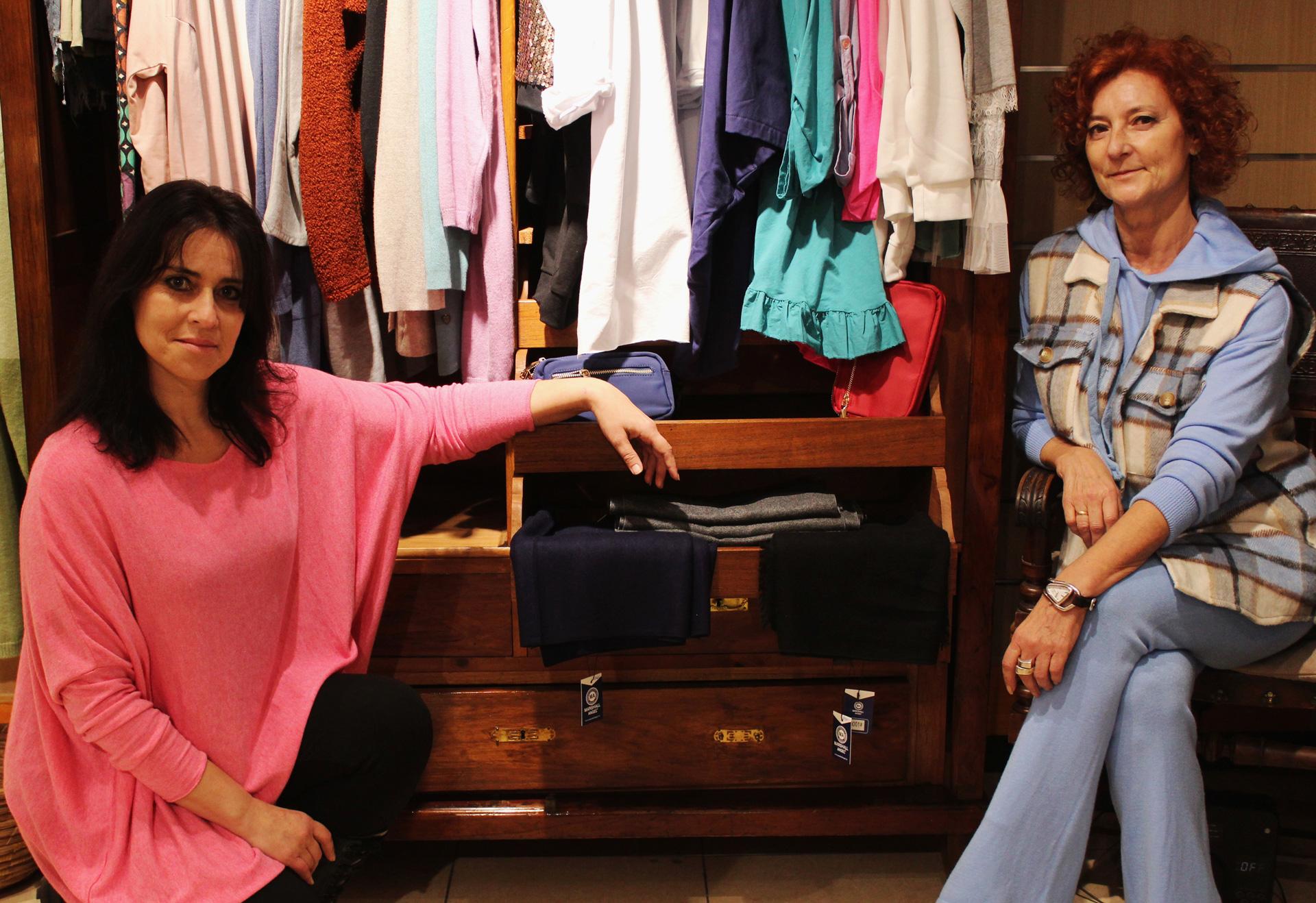 Esther y Ana Claramunt fundadoras de Viste de Kas